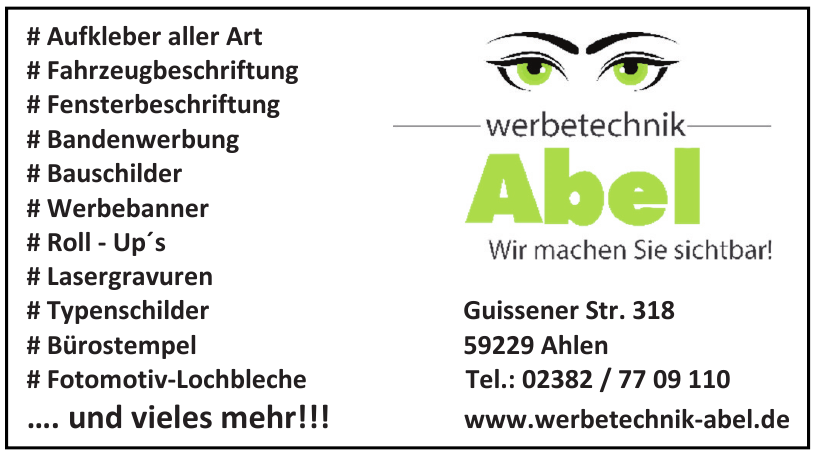 Werbetechnik Abel