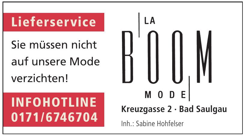 La Boom Mode
