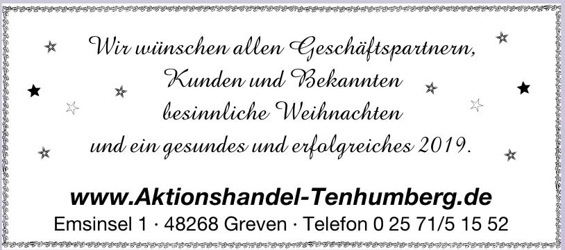 Aktionshandel Tenhumberg