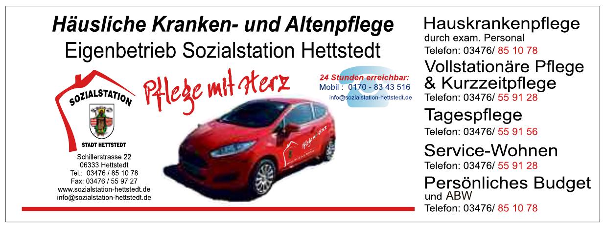 Eigenbetrieb Sozialstation Hettstedt