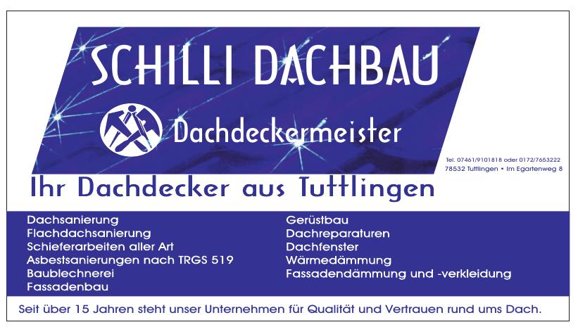 Schilli Dachbau