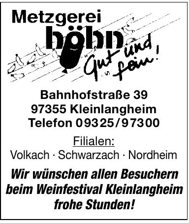 Metzgerei Höhn