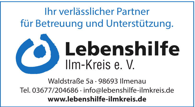 Lebenshilfe Ilm-Kreis e. V.