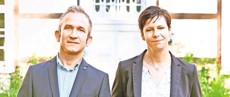 Geschäftsführer Marco Kurzok und seine Stellvertreterin Antje Fritzler freuen sich über den sehr guten Zuspruch ihres Hauses.