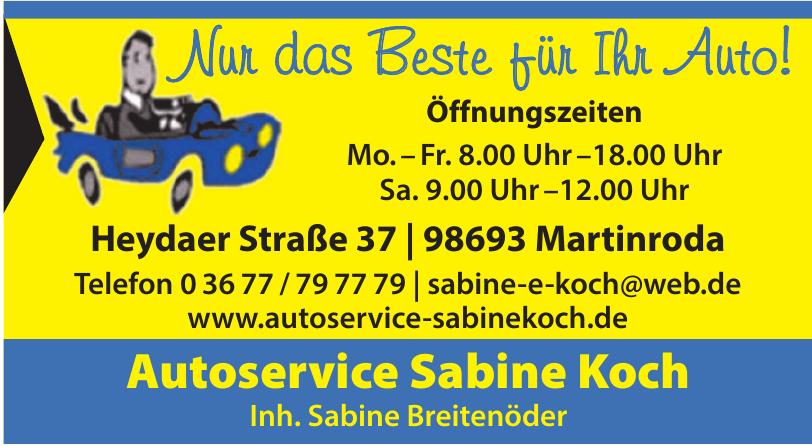 Autoservice Sabine Koch