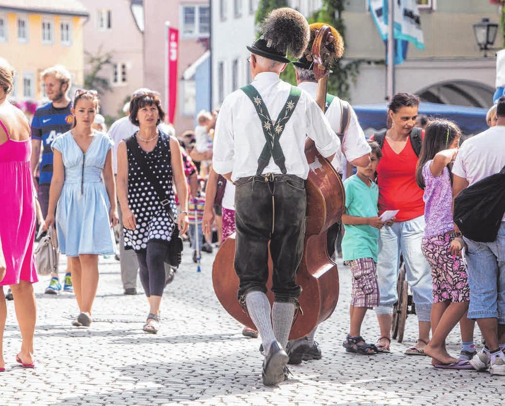 Allgäu-Typisches überall. FOTOS: ERNST FESSLER