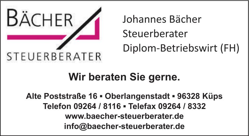 Johannes Bächer Steuerberater