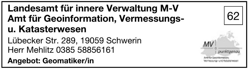 Landesamt für innere Verwaltung M-V