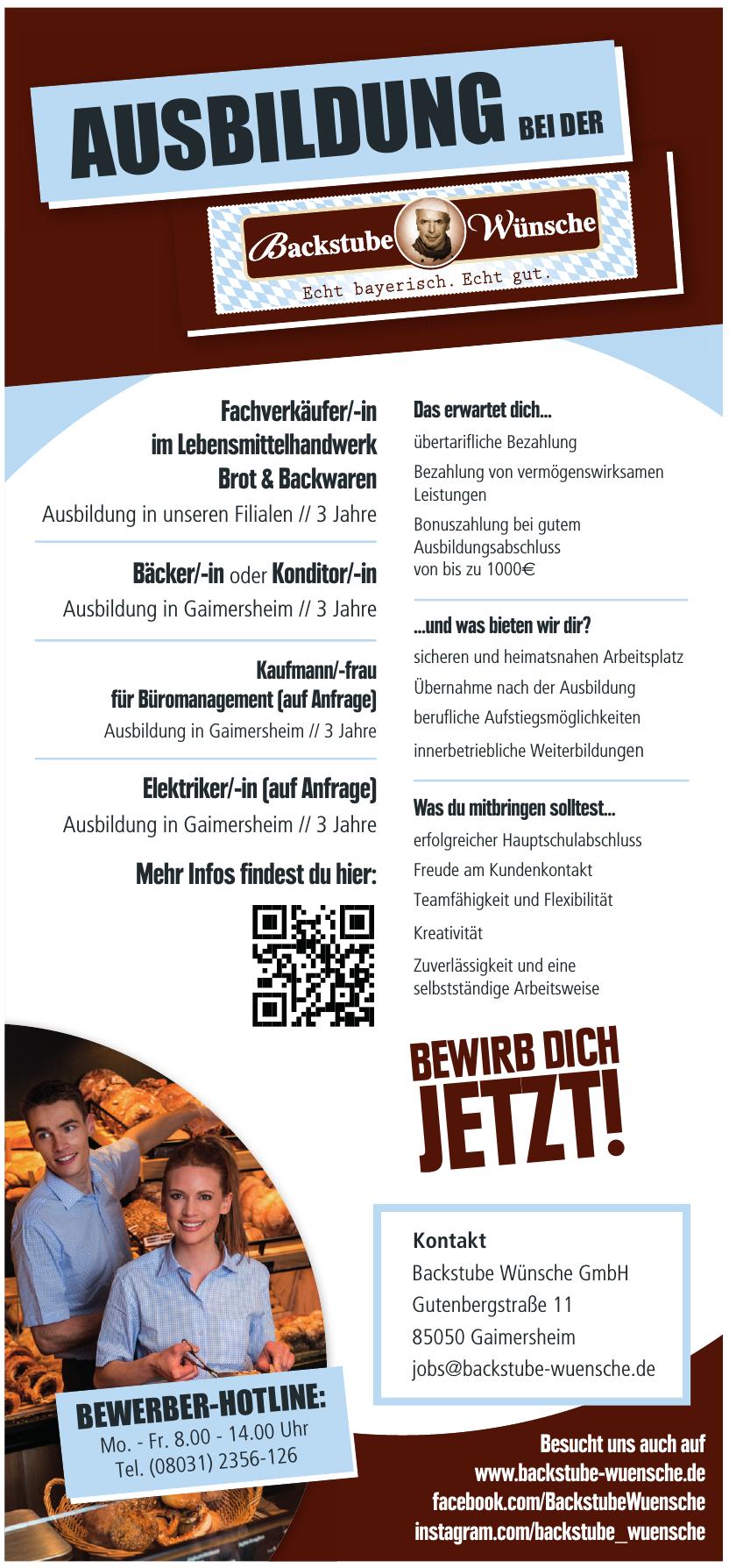 Backstube Wünsche GmbH