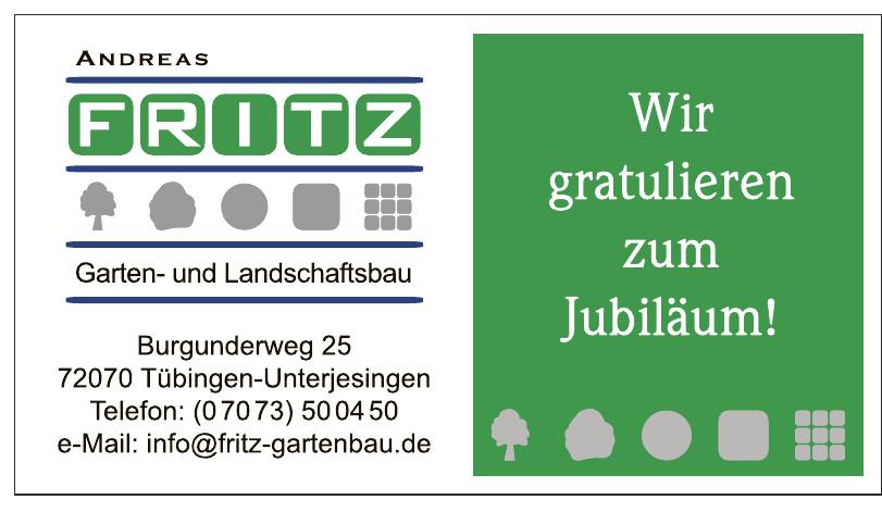 Andreas Fritz Garten- und Landschaftsbau