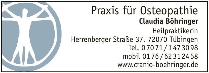 Praxis für Osteopathie Claudia Böhringer