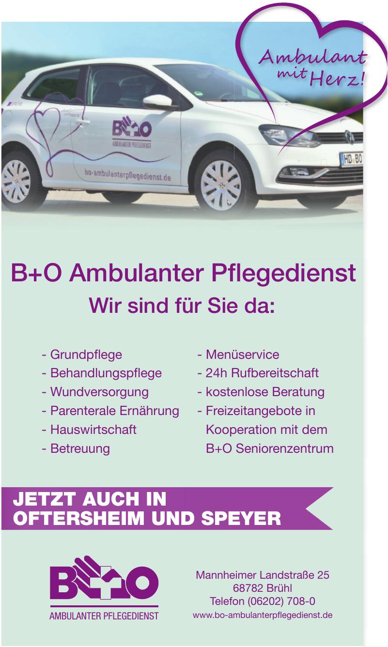 B+O Ambulanter Pflegedienst