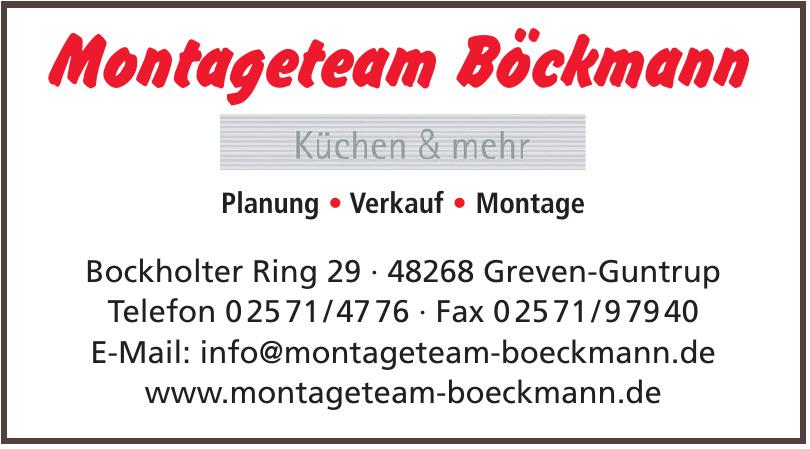 Montageteam Böckmann