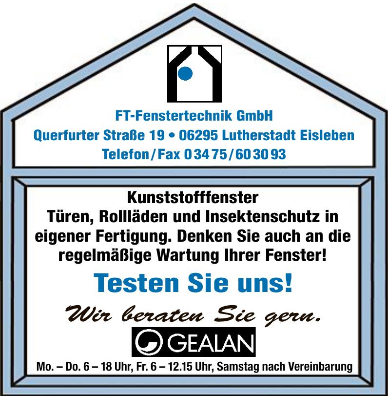 FT-Fenstertechnik GmbH