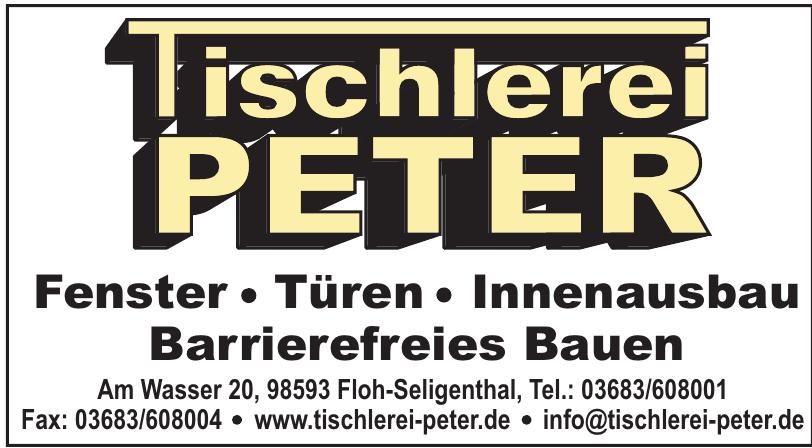 Tischlerei Peter