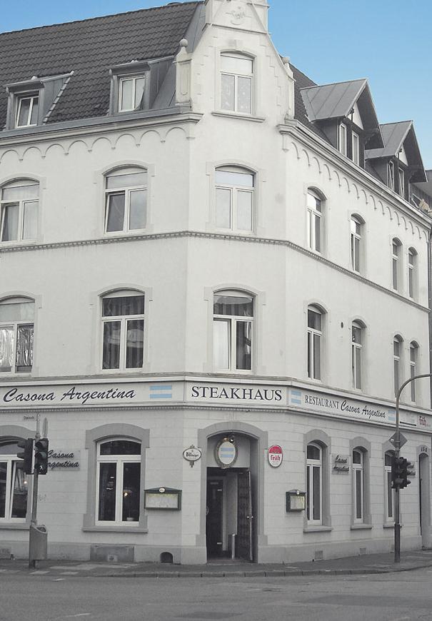 Das Gebäude wurde 1904 errichtet Bild: Bruletti
