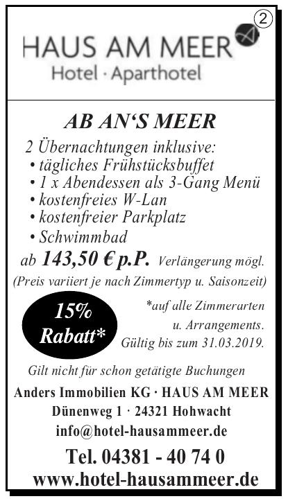 Haus am Meer - Hotel & Café