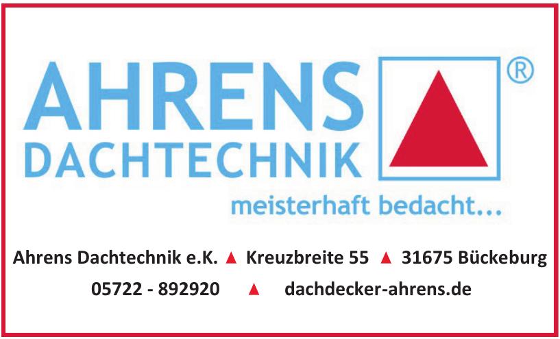 Ahrens Dachtechnik e.K