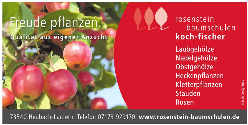 Rosenstein Baumschulen Koch-Fischer