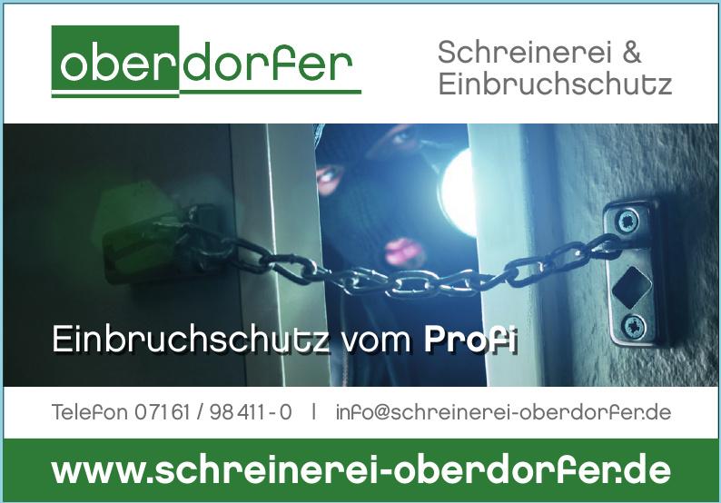 Oberdorfer Schreinerei & Einbruchschutz