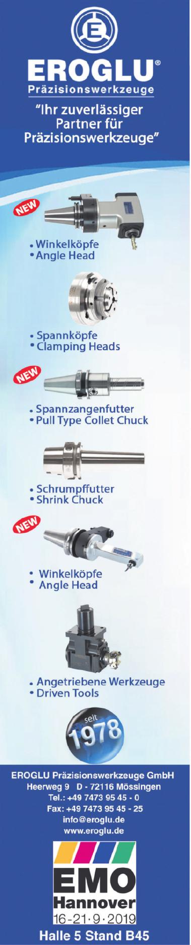 Eroglu Präzisionswerkzeuge GmbH