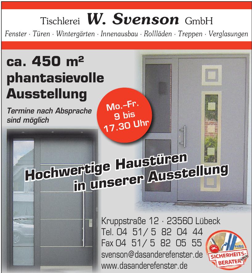 Tischlerei W. Svenson GmbH