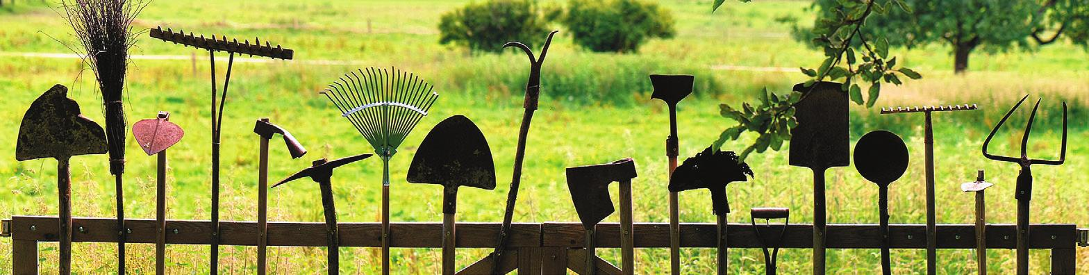 Auch massives Gartenwerkzeug hält nicht ewig Foto: Pixabay