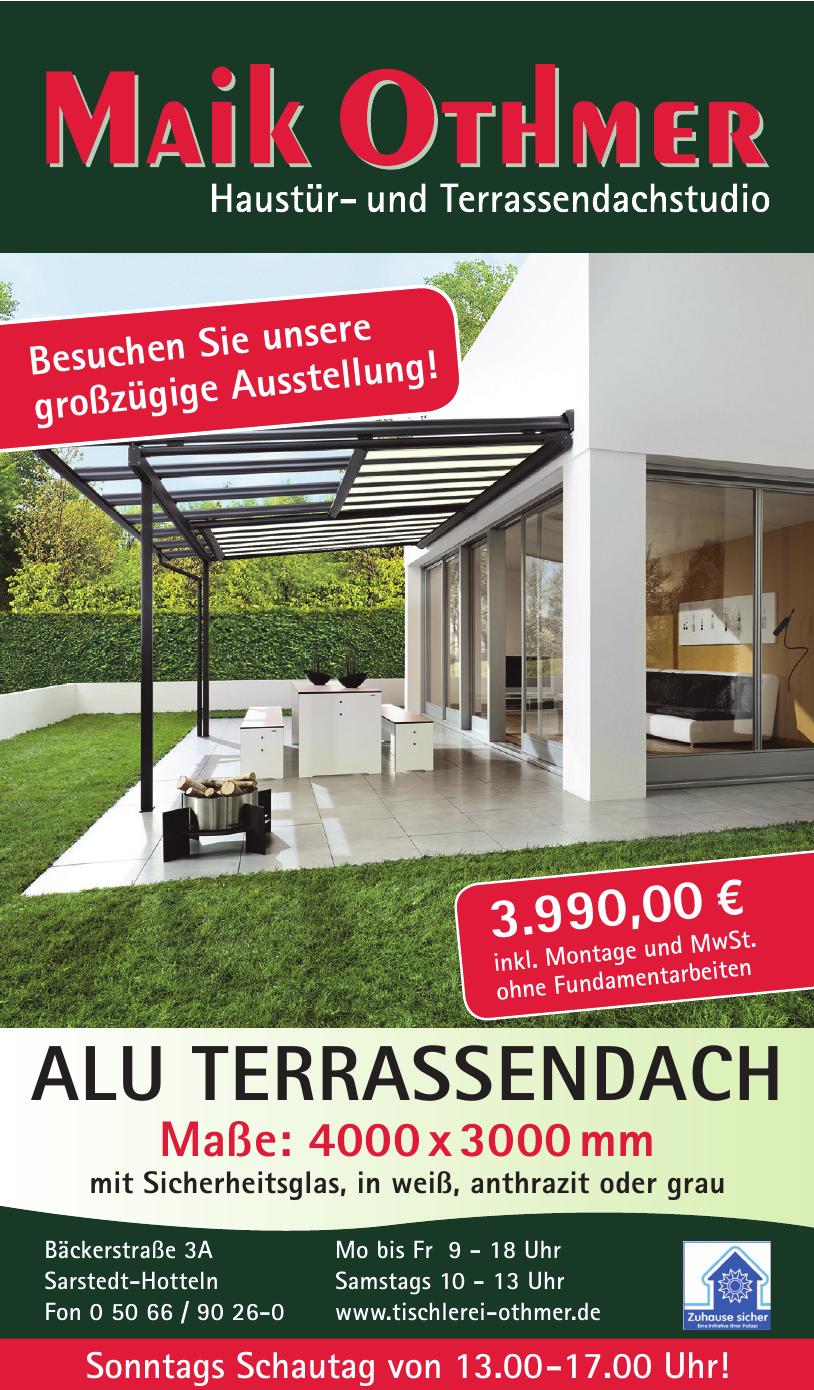 Maik Othmer Haustür- und Terrasendachstudio, Tischlerei