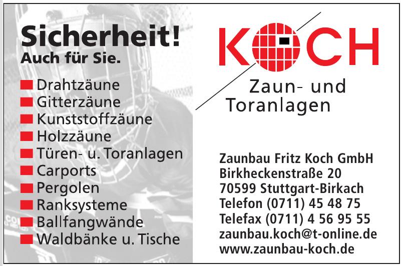 Zaunbau Fritz Koch GmbH