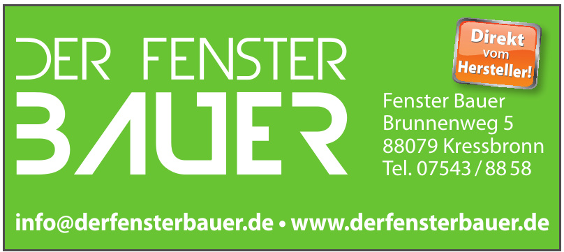 Fenster Bauer