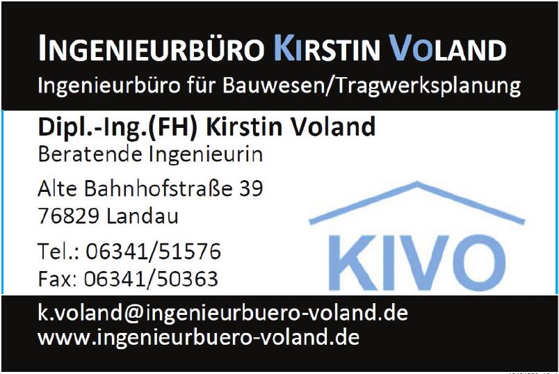 Ingenieurbüro Kirstin Voland