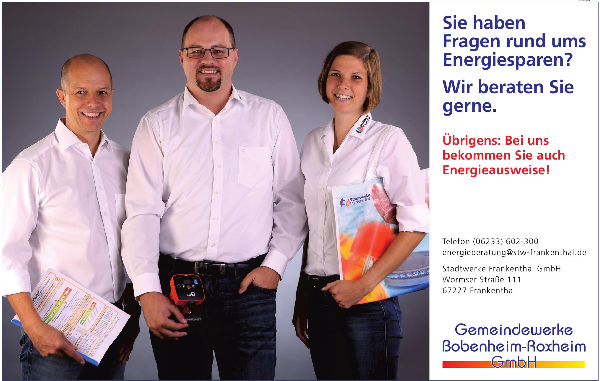 Gemeindewerke Bobenheim-Roxheim GmbH