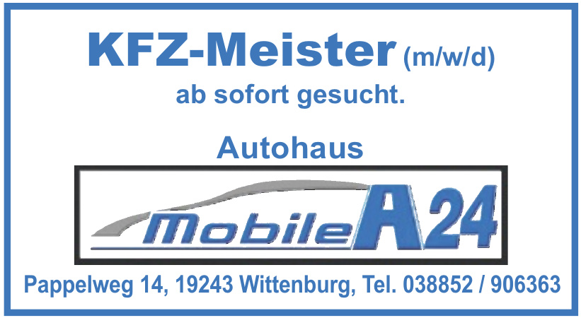 Autohaus Mobile A24