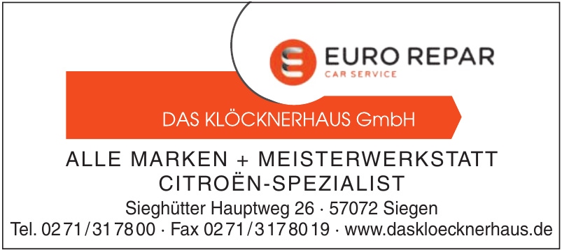 Das Klöcknerhaus GmbH