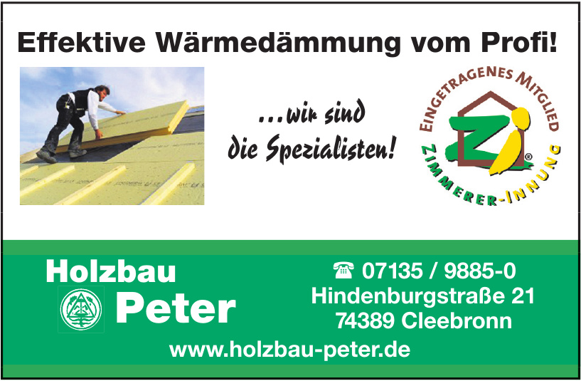 Holzbau Peter