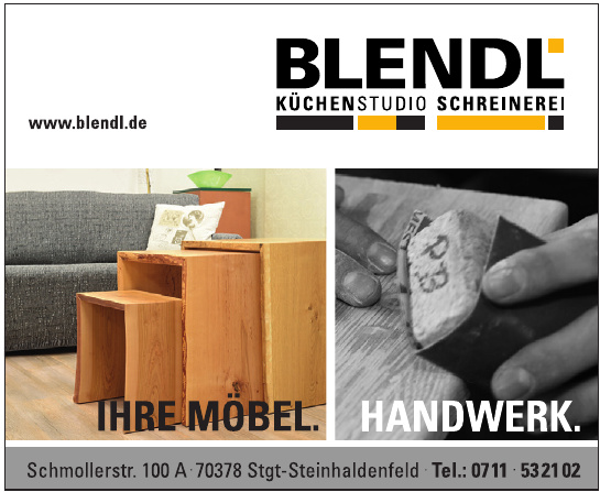 Schreinerei Blendl Stuttgart