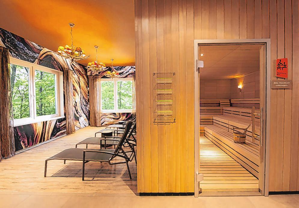 Entspannung pur in der Sauna-Landschaft