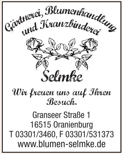 Gärtnerei, Blumenhandlung und Kranzbinderei Selmke