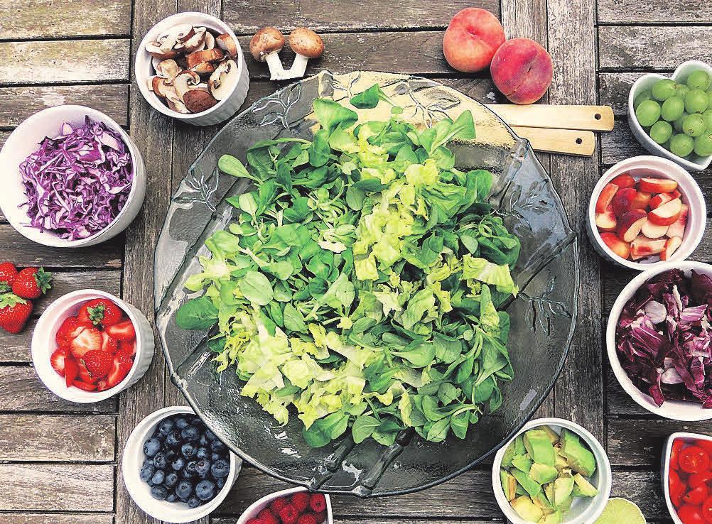 Gesunde Ernährung bringt Genuss und Freude.