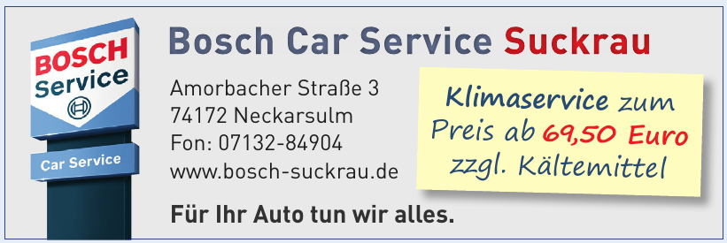 Bosch Car Service Suckrau