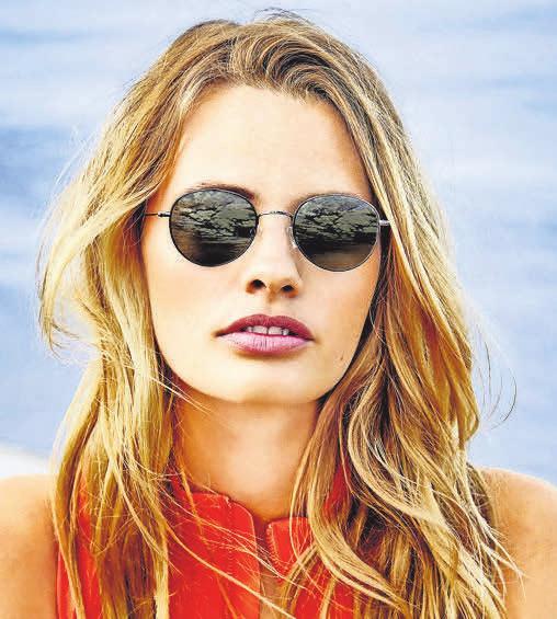Mit braun oder grau getönten Gläsern werden Farben besser wahrgenommen. Foto: Fielmann