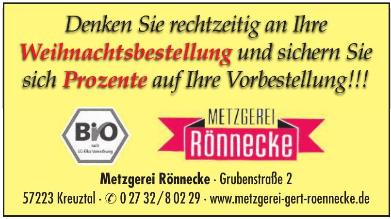 Metzgerei Rönnecke