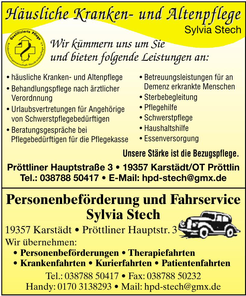 Häusliche Kranken- und Altenpflege Sylvia Stech