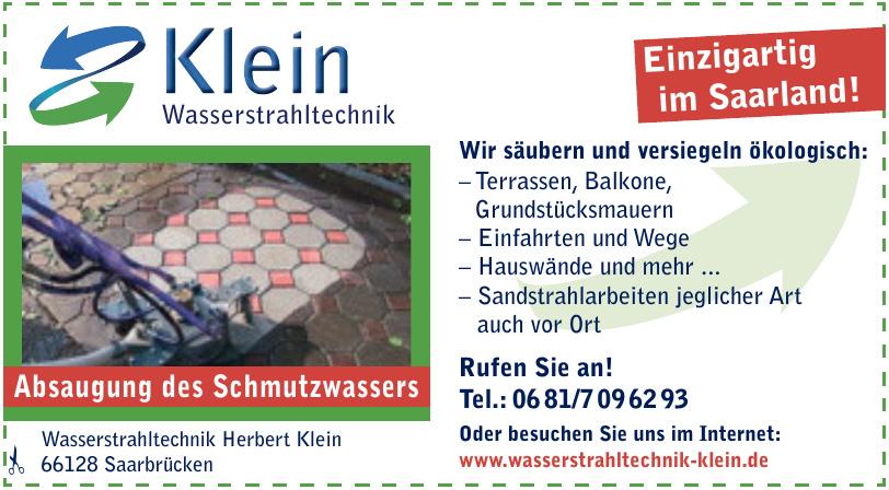 Wasserstrahltechnik Herbert Klein