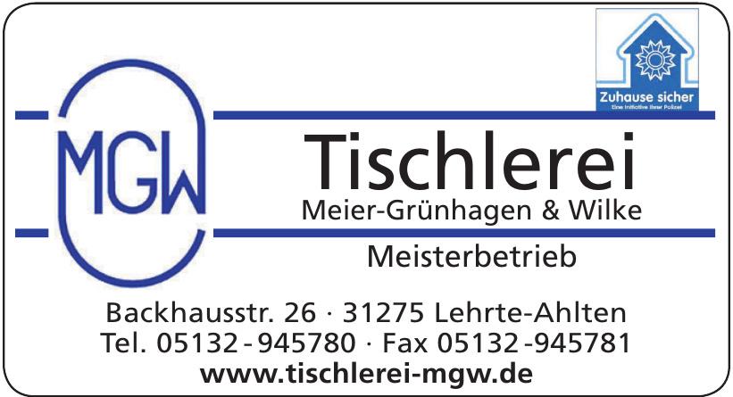MGW Tischlerei Meier-Grünhagen & Wilke