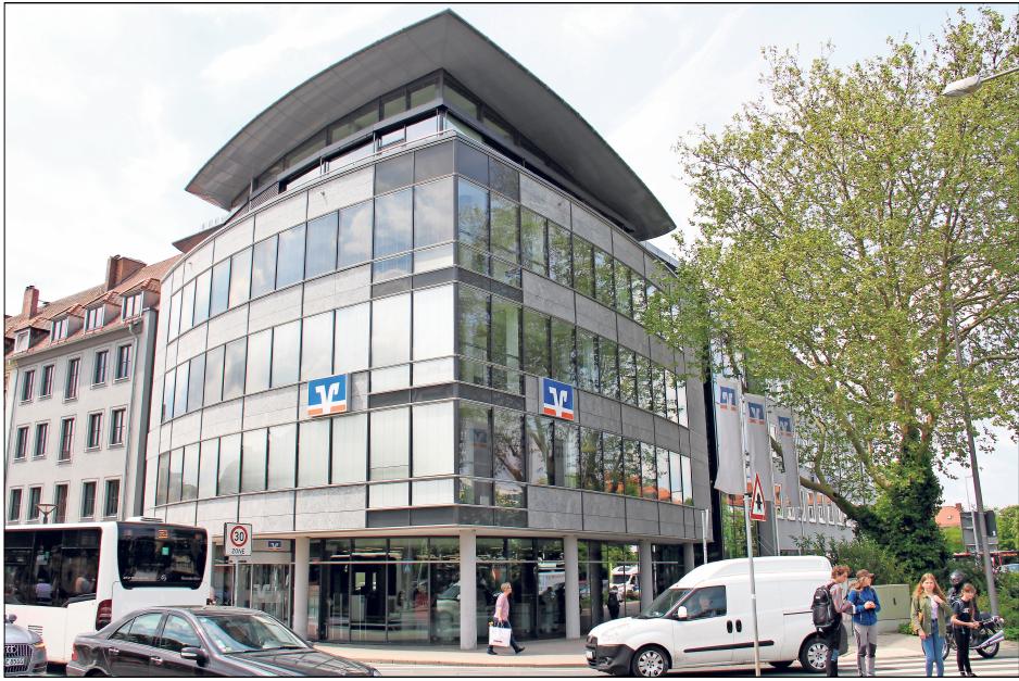 450 Mitarbeiterinnen und Mitarbeiter der VR Bank Bayreuth-Hof versorgen die Region in 33 Filialen mit Finanzdienstleistungen Foto: Thomas Kenger