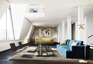 Stilvolle Ausstattung gehört zum luxuriösen Gesamtpaket des Glint. FOTOS: COPRO PROJEKTENTWICKLUNG GMBH