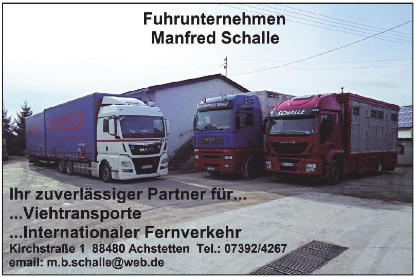 Manfred Schalle Fuhrunternehmen