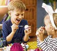 Basteln, Spielen, Ostereier bemalen - rund um das Osterfest bieten sich vor allem den Kleinsten viele Möglichkeiten, sich kreativ zu betätigen. FOTO: FOTOLIA