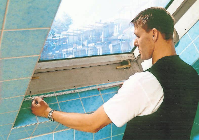 Die Erneuerung der Fenster spart langfristig Geld.